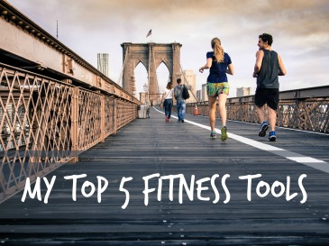 From fitness trackers, to radio, to mindfulness, these are my top 5 favorite fitness tools.